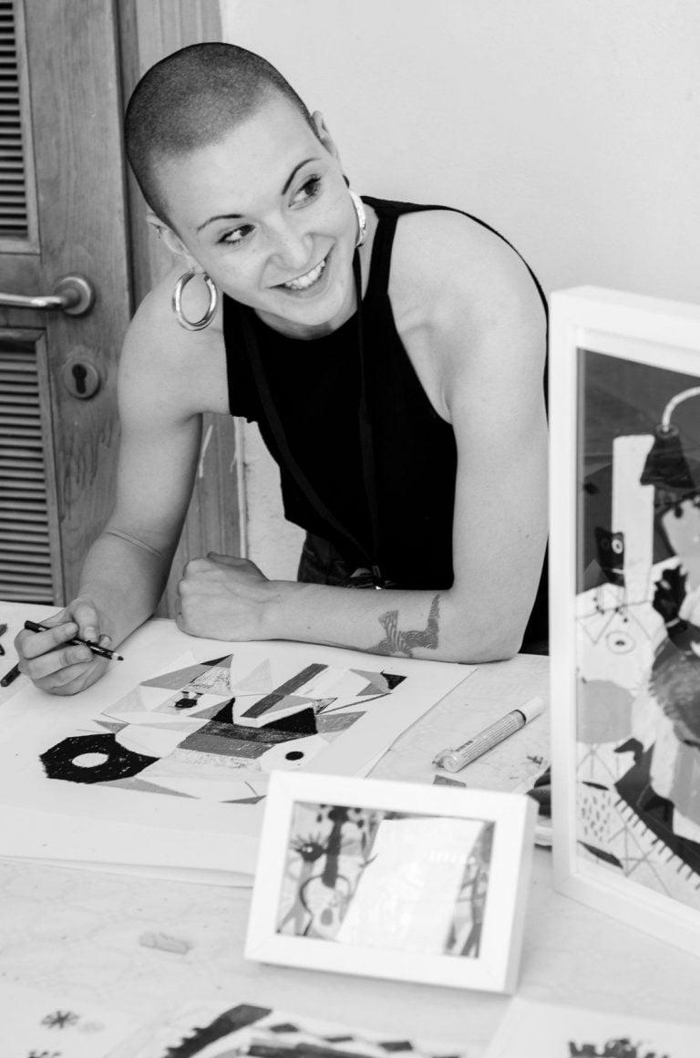 L'illustratrice: Giulia Pastorino per Fai Piano Michele di Elena Levi